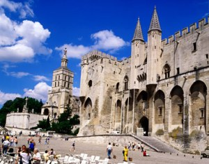 Avignon-scene
