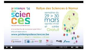 Printemps des sciences